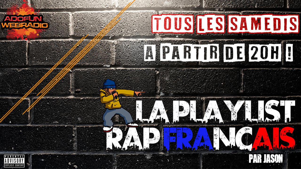 La playlist rap français